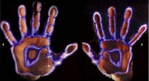 Kirlian photo-hands copy