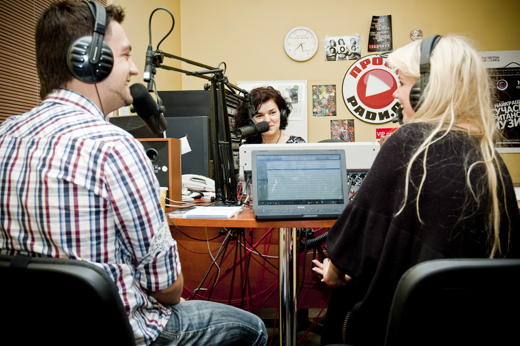 Studio-intervue